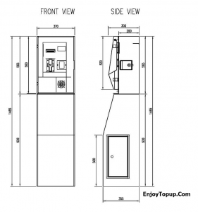 โครงสร้างตู้เติมเงิน